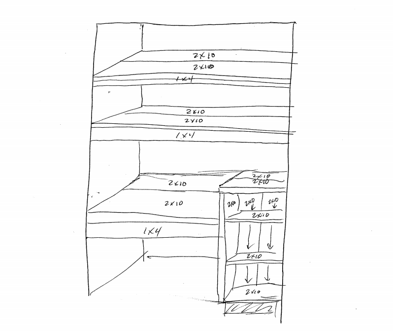 closet office plan