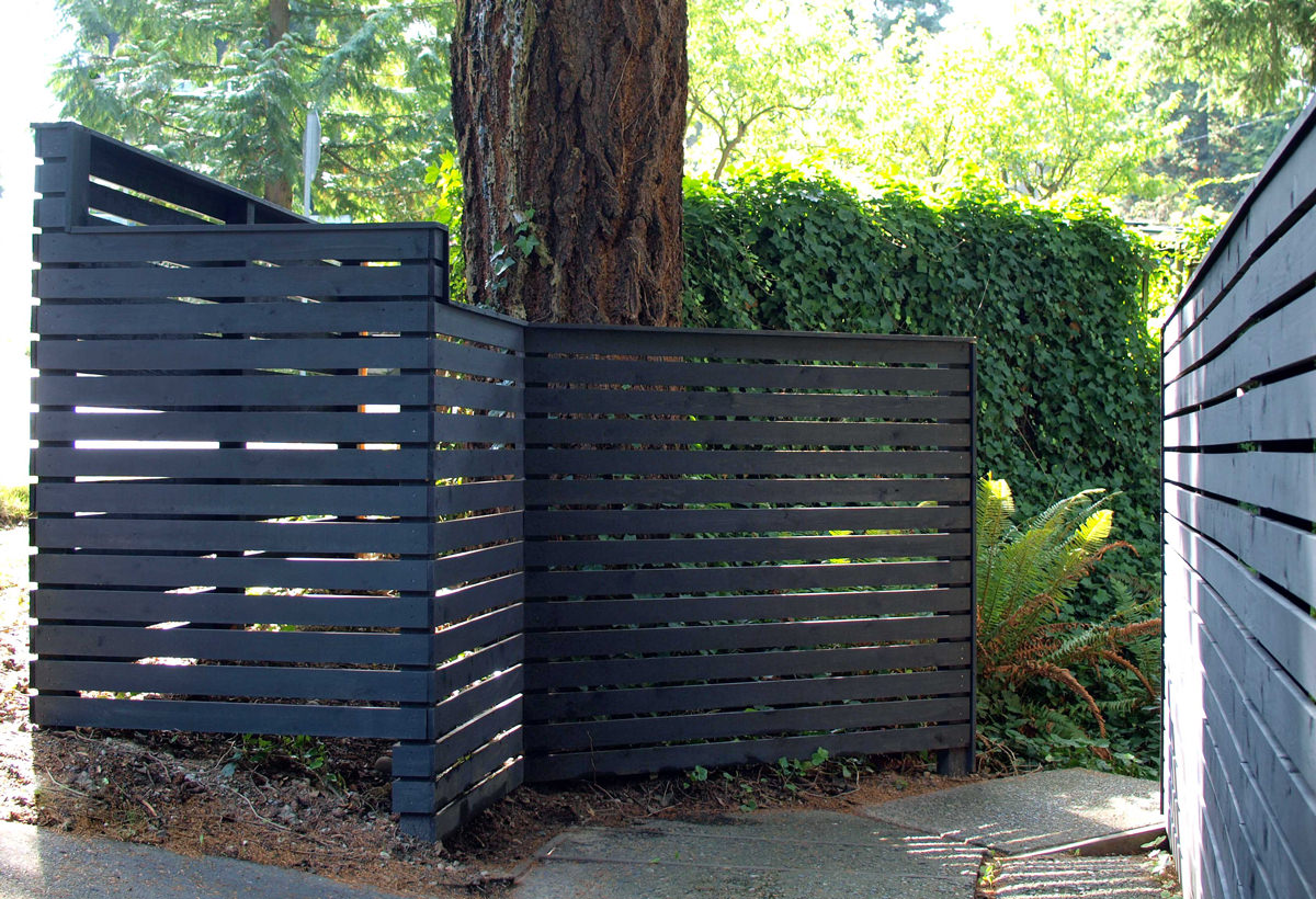 Design Your Own Metal Home How To Build A Diy Backyard Fence Part Ll Diy Modern