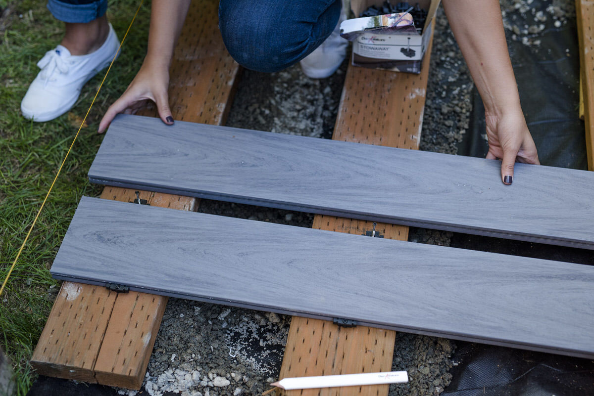 How To Build A Boardwalk Deck Wood Walkway Dunn Diy