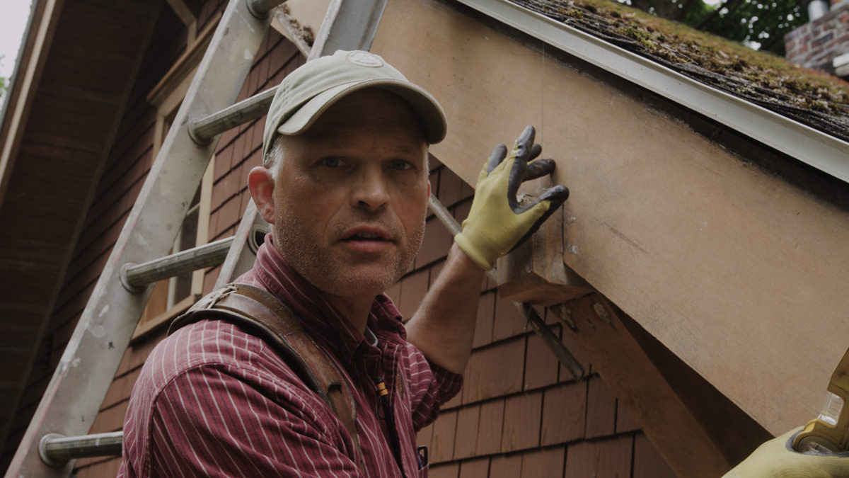 Dunn Lumber How to Replace Rotten Historic Gable End Fascia Tail Seattle WA 2