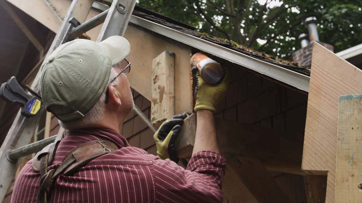 Dunn Lumber How to Replace Rotten Historic Gable End Fascia Tail Seattle WA 8