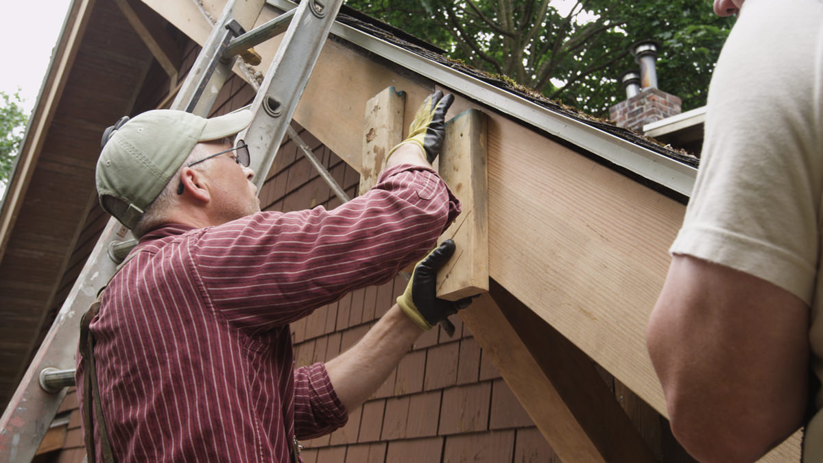 The History Of Rafter Tails Wooden Gutters And Fascia In