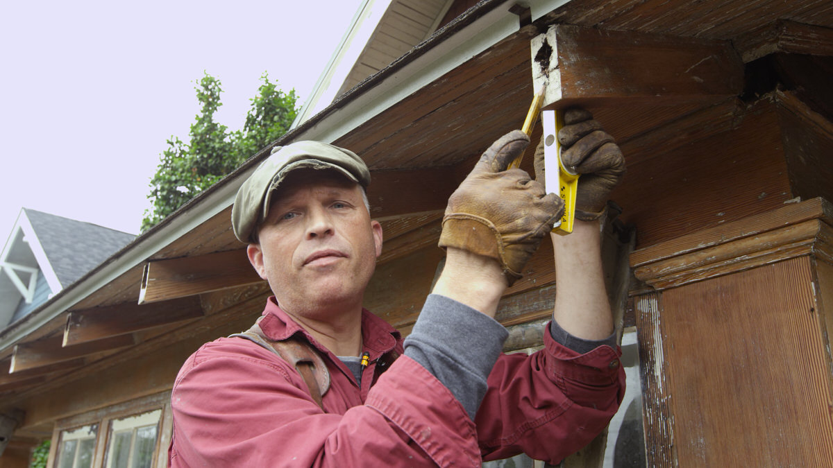 How To Repair A Rafter Tail Amp Install Fascia Rafter Tail