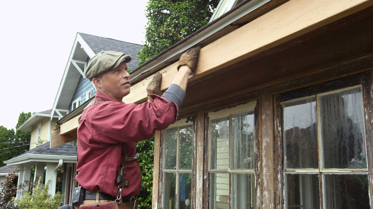 Dunn Lumber How to Repair Rafter Tail and Install Fascia Seattle WA 6
