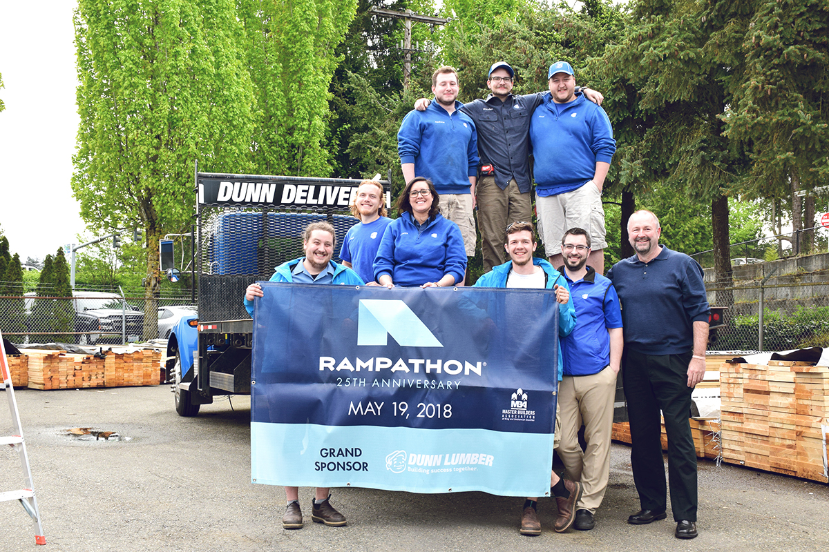 dunn lumber 25 years of rampathon