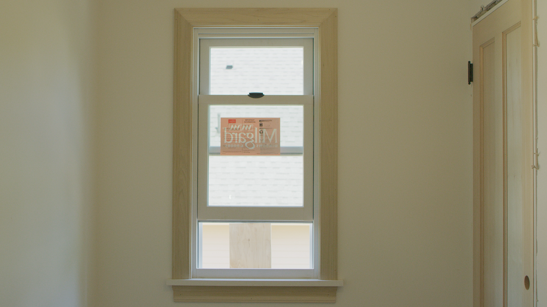 how to relocate a window in an existing wall