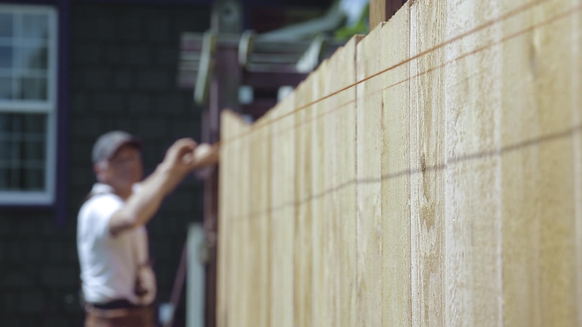 Dunn Lumber How to Build a Cedar Fence Seattle WA 2