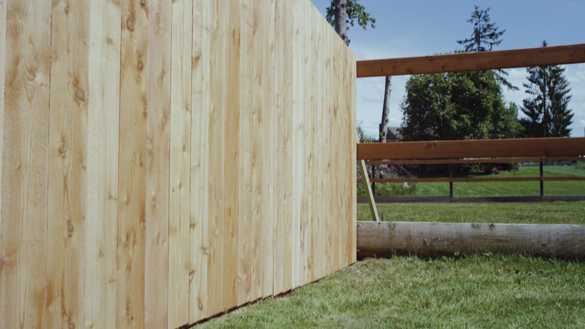 Dunn Lumber How to Build a Cedar Fence Seattle WA 4