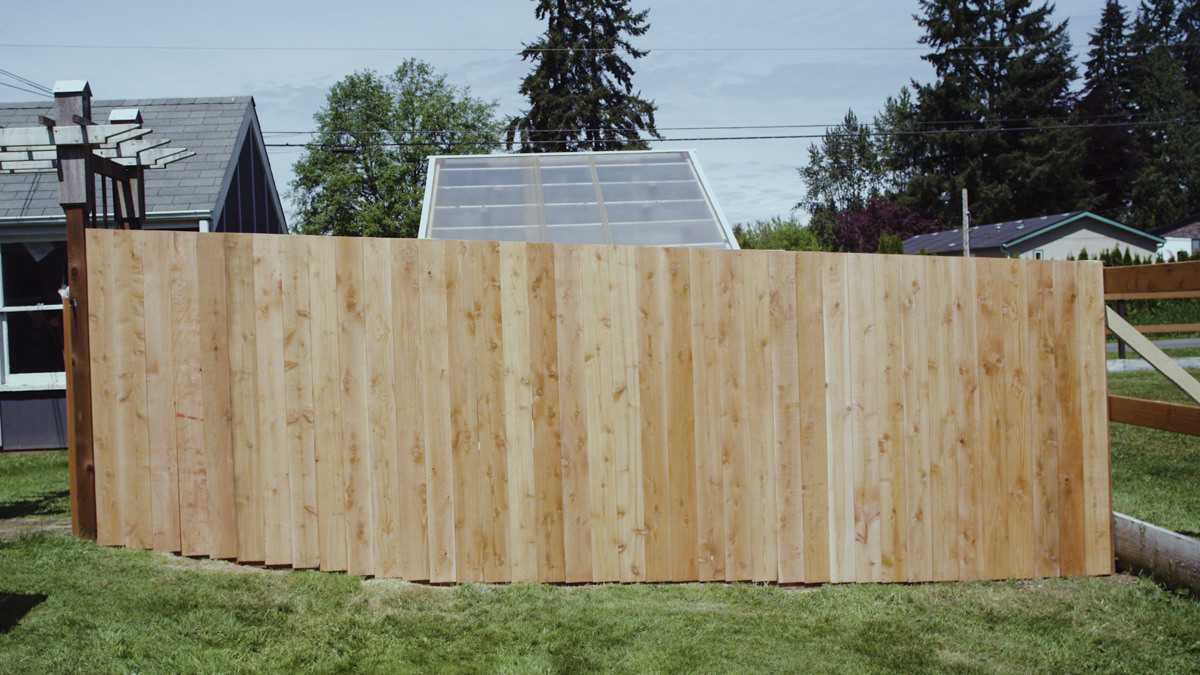 Dunn Lumber How to Build a Cedar Fence Seattle WA 5