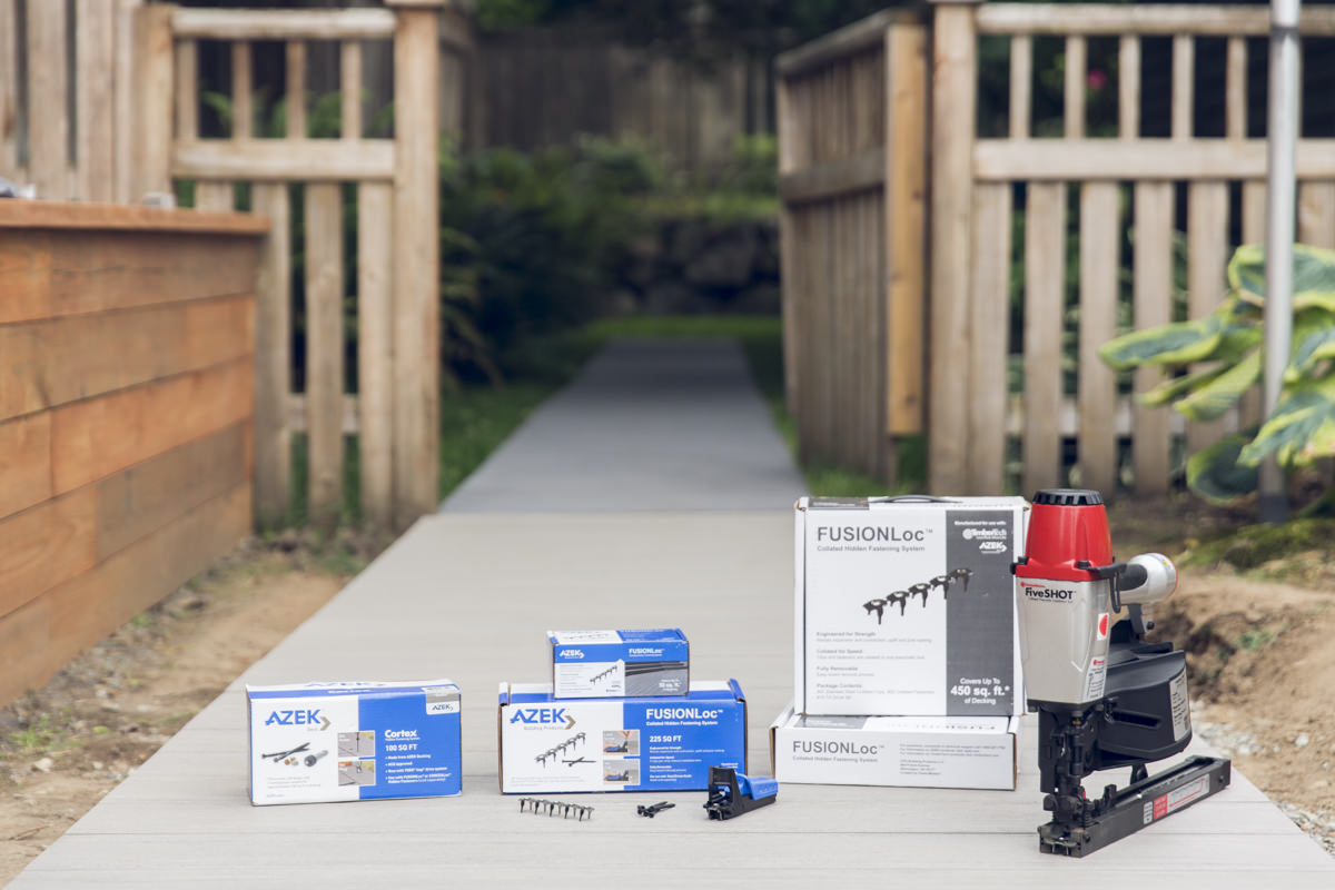 how to use cortex hidden fastening system on your deck