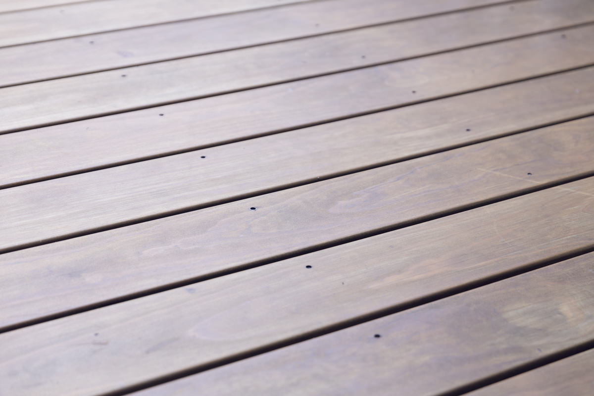 modified deck wood