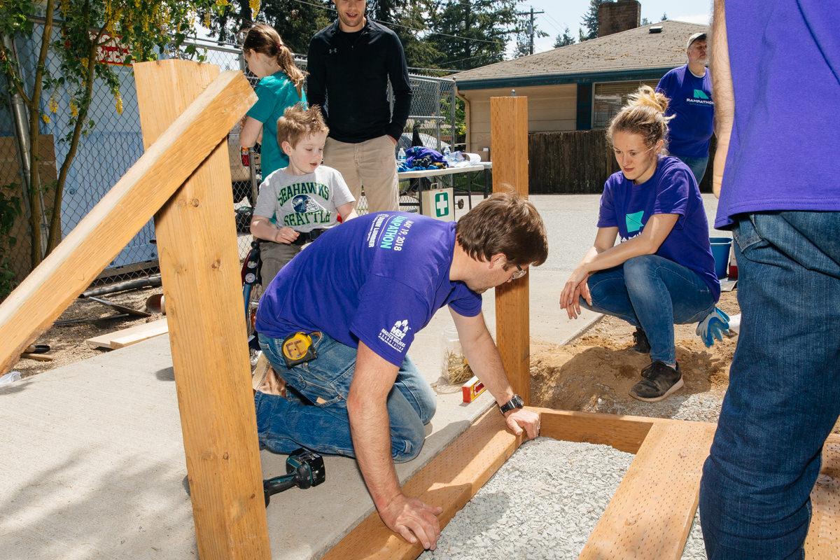 Building wheelchair ramps chermak construction