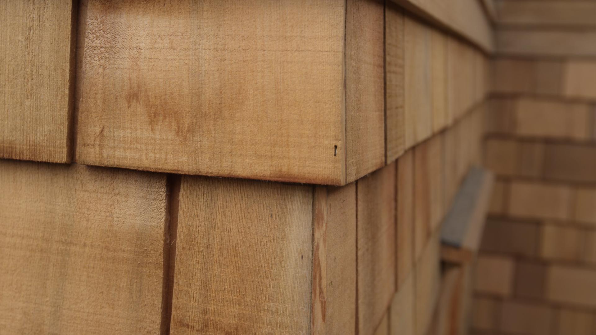Weaving Cedar Shingles How To Weave Cedar Shingles On