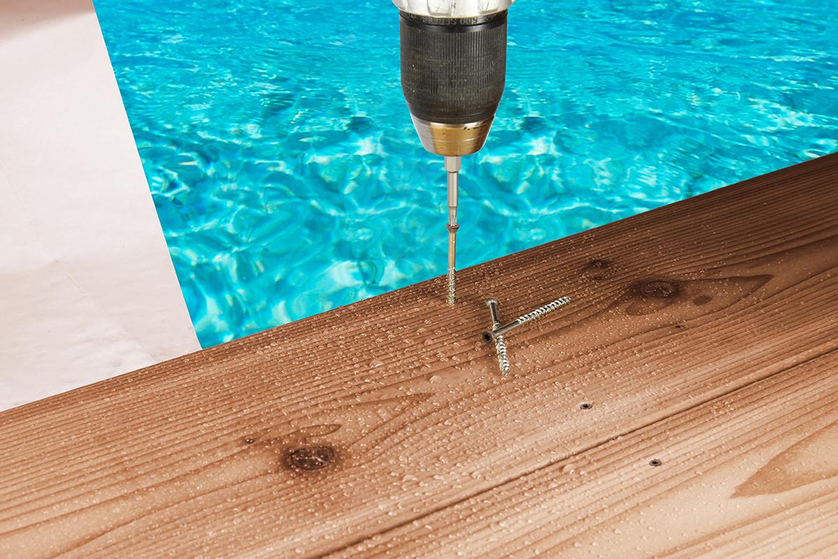 Simpson Strong-Tie deck drive wood screw