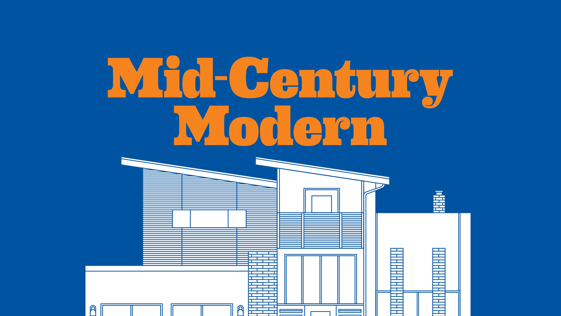 Mid century moulding the history of mid century modern for Mid century modern interior window trim