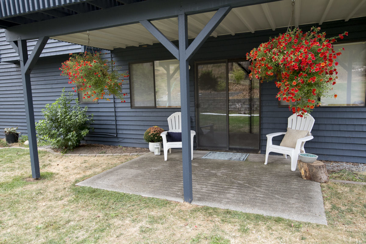 create a dry space under your deck