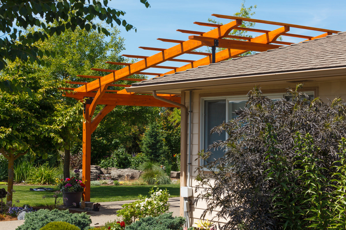Elevate your patio cover with skylift roof riser hardware for Dunn lumber