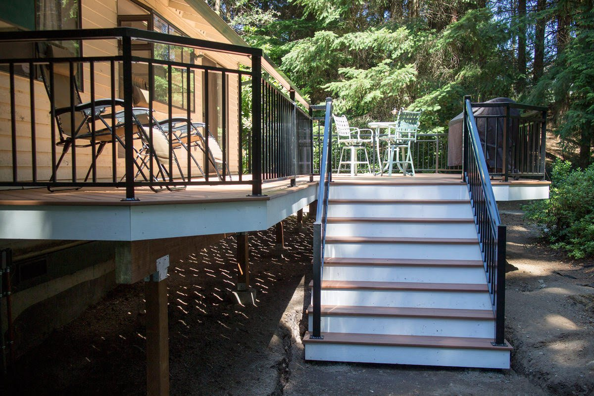Deck planning how to plan for a new deck deck advice for Dunn lumber