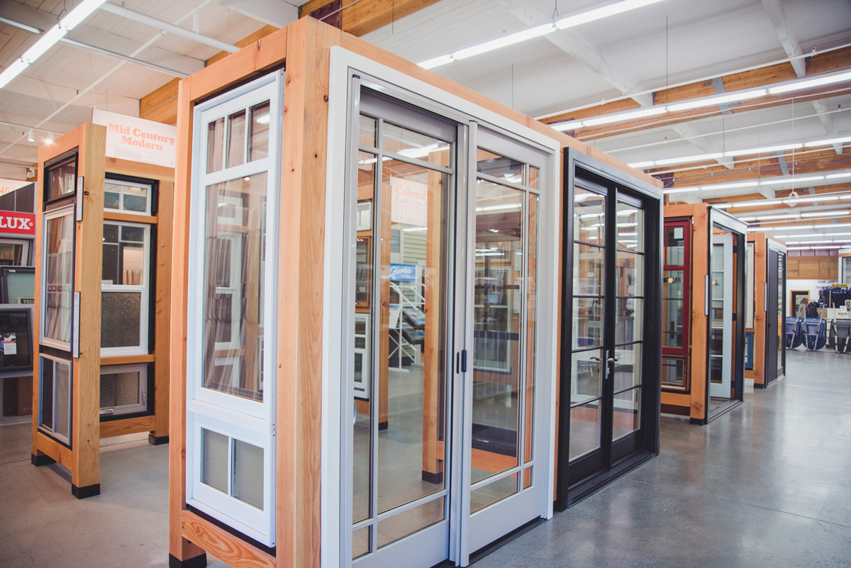 patio door showroom