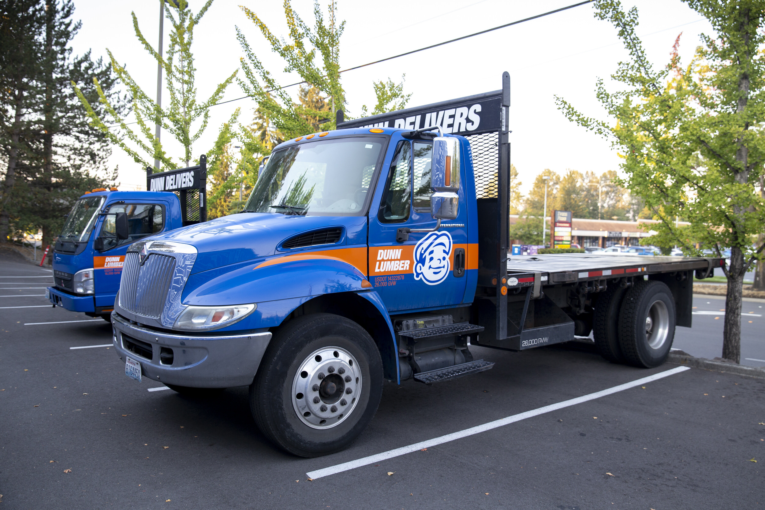 Dunn Lumber Rental Trucks for Shipments and Delivery