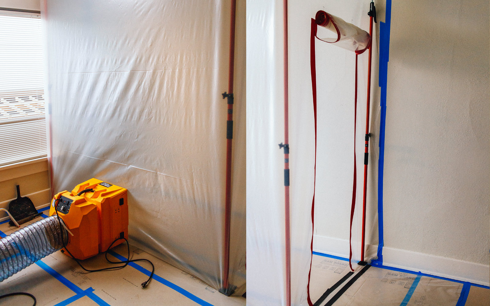How To Do Dust Containment On A Remodel Project