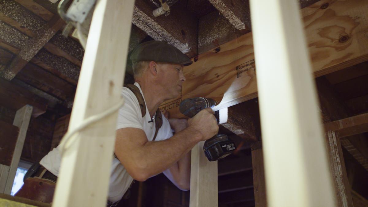 Installing LVL Beams During a Residential Remodel | Laminated Veneer