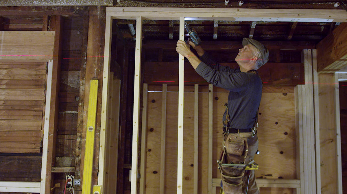 How To Place A Pocket Door Part 1: Framing