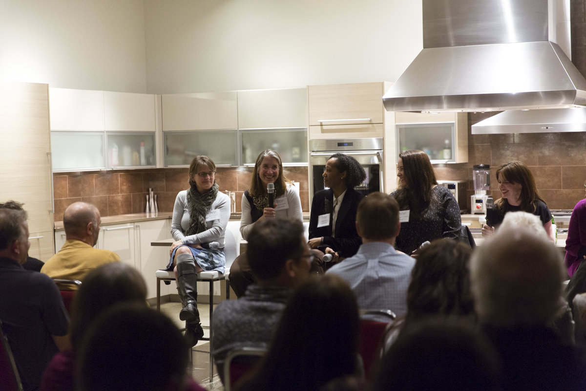 all-female panel of architects and builders