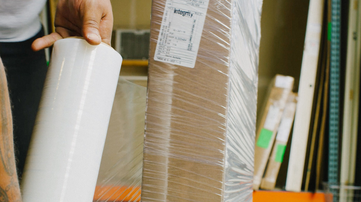 Preparing Shipping for home or jobsite delivery