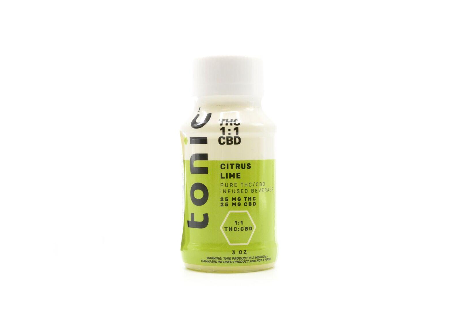 Citrus Lime Tonic Shot   PTS