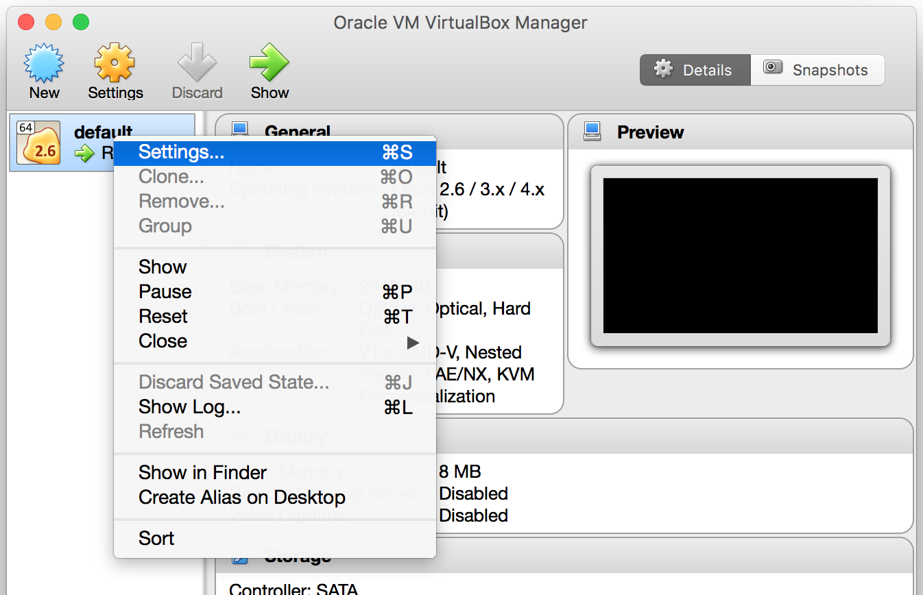VirtualBox Main