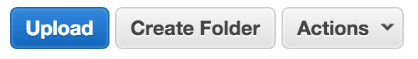 s3 upload button