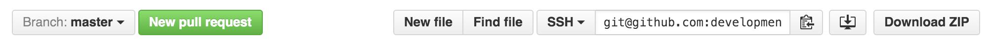 Github repository url