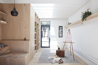 An Unused Garage Is Transformed Into a Light-Filled Backyard Studio - Photo 1 of 9 -