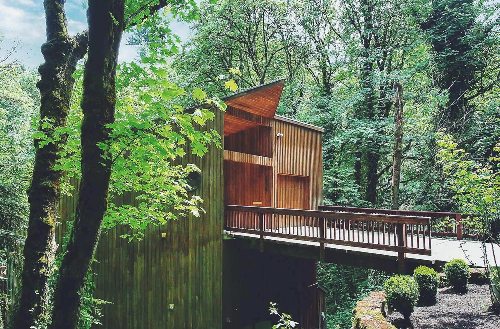 This Tree House For Rent Near Downtown Portland Doubles As