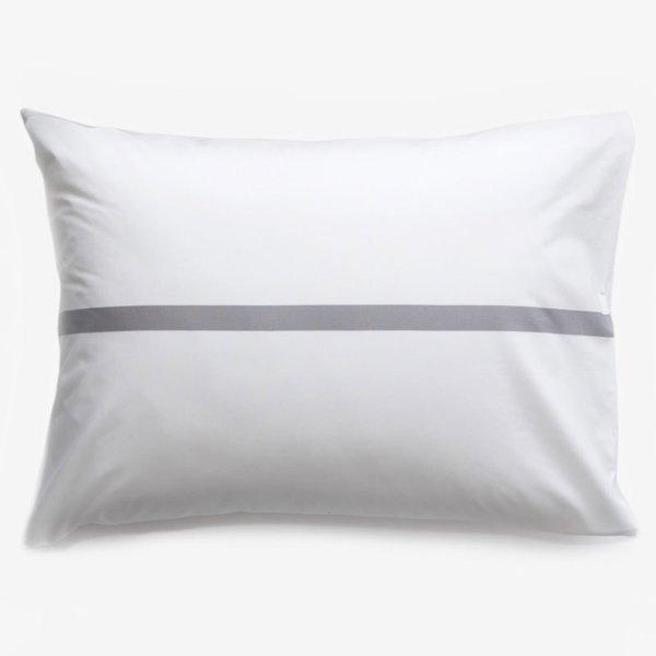 Tatami Gray Pillowcase Set Standard