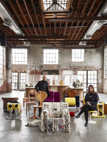 Object & Think designer Rafael de Cardenas and founder Abby Bangser
