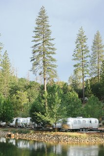 Our airstream suites looked out onto the natural pond at the center of the grounds. At night, most guest light up their fire pits to roast marshmallows and relax.