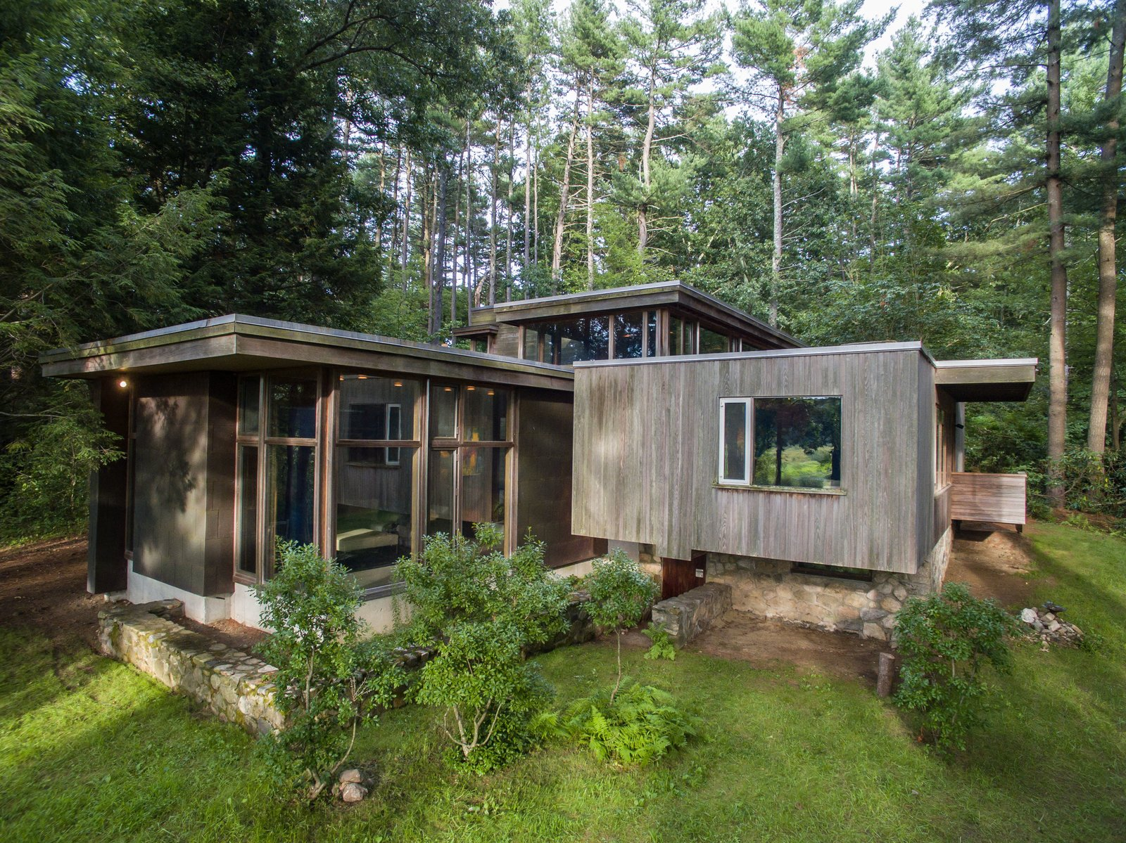 Amazing photo of Dwell This Updated Breuer House Could Be Yours for a Cool $2.3  with #697439 color and 1600x1199 pixels