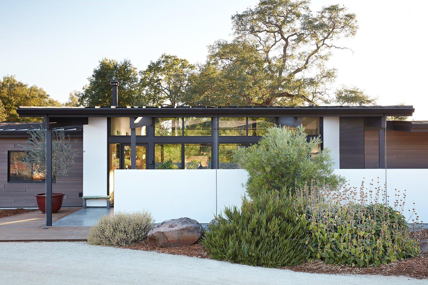 Dwell sacramento modern residence - Residence calistoga strening architects californie ...