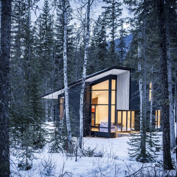 Dwell 10 Modern Wintry Cabins We D Be Happy To Hole Up In