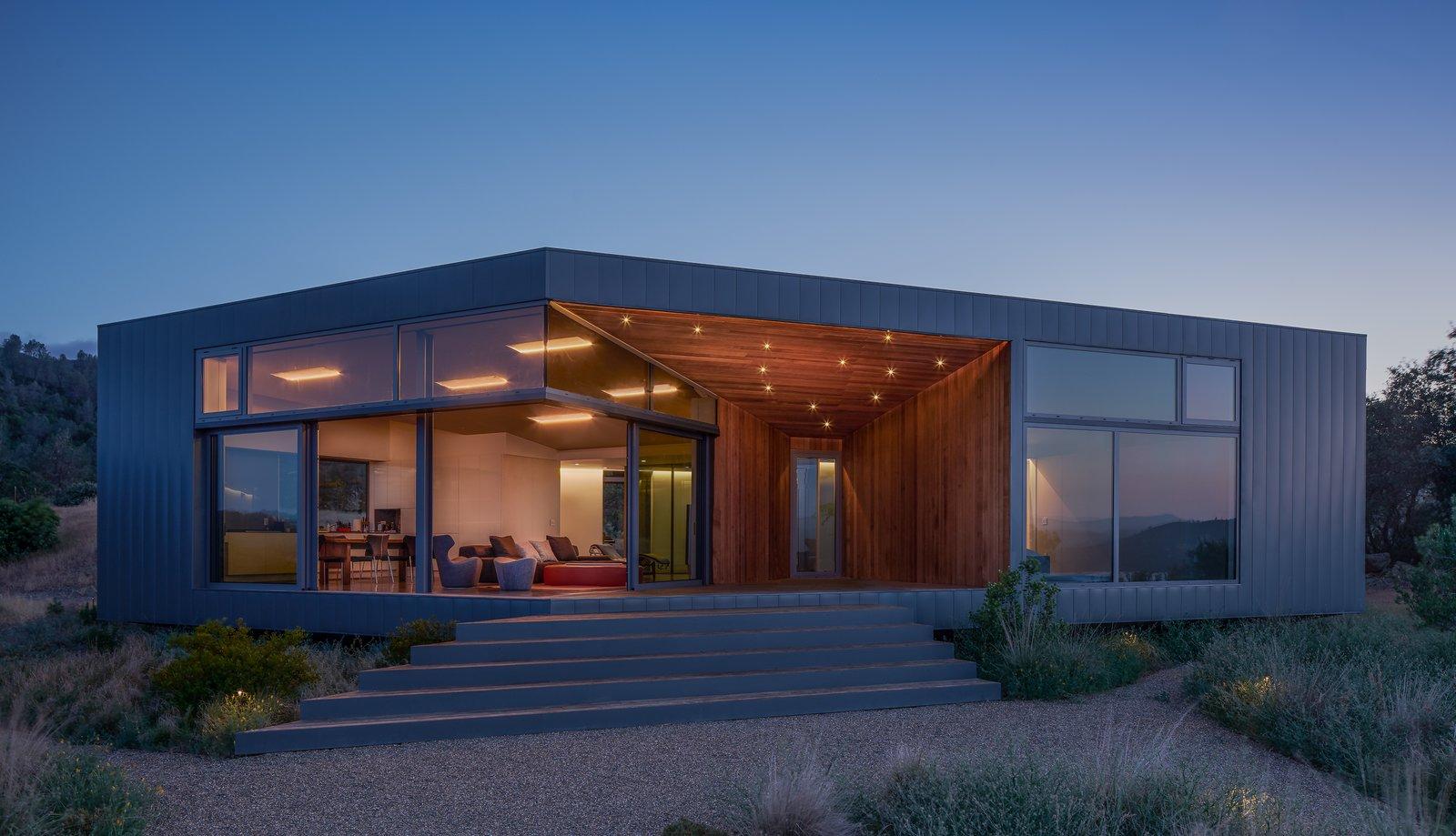 Lake Berryessa Custom Home Modern Home In California On Dwell