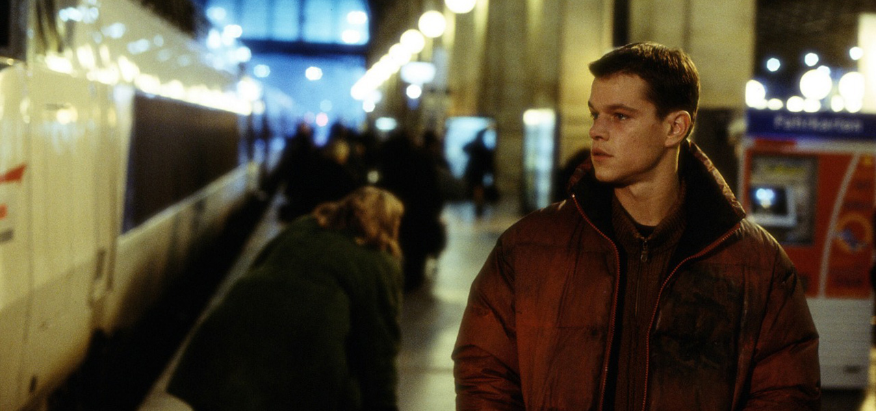 Matt Damon in <em>The Bourne Identity</em>