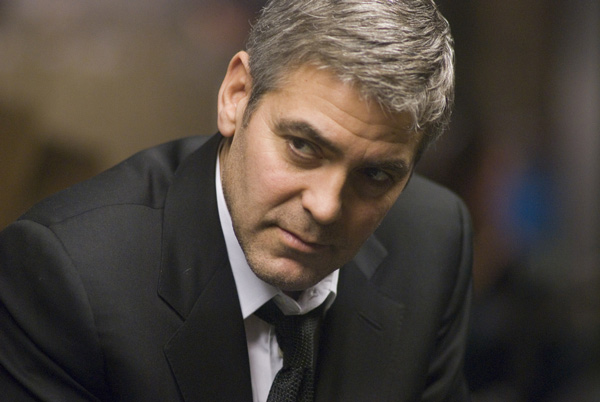 George Clooney in <em>Michael Clayton</em>