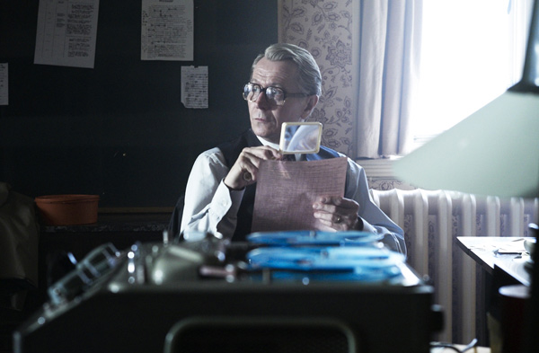 Gary Oldman as George Smiley in <em>Tinker Tailor Soldier Spy</em>