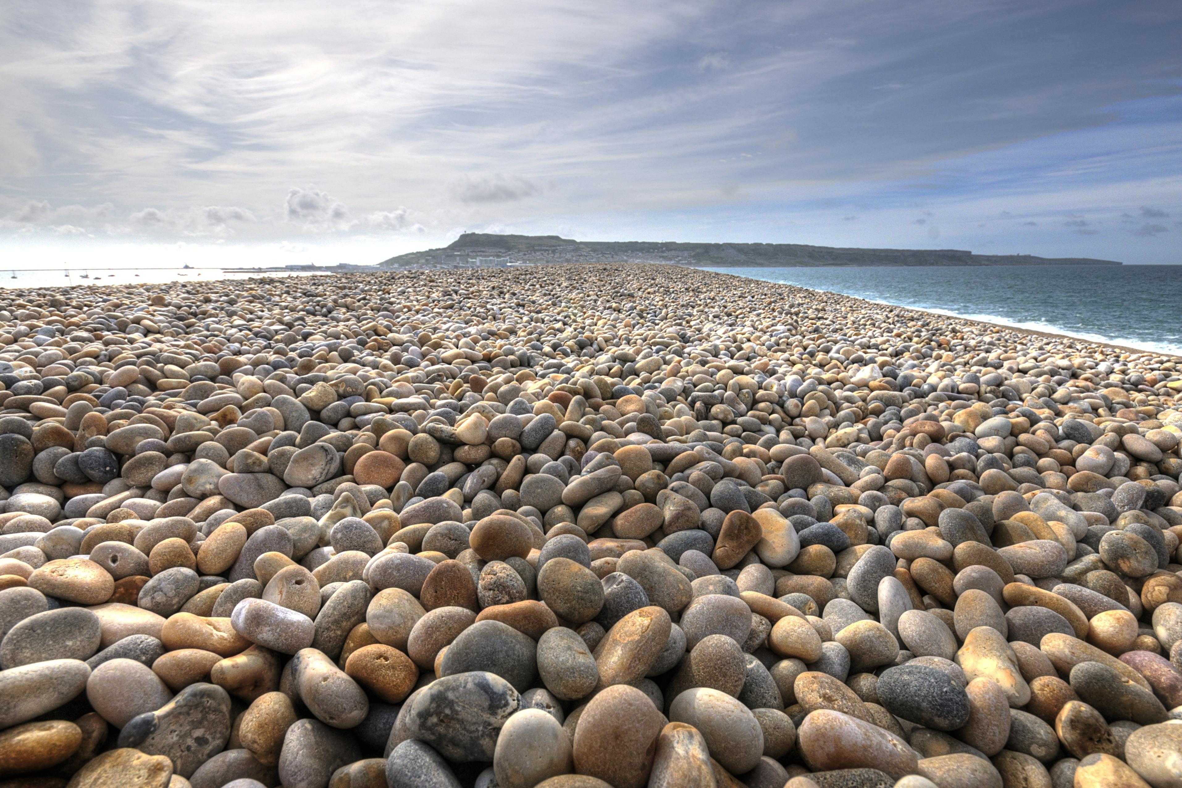 Chesil Beach's pebbles