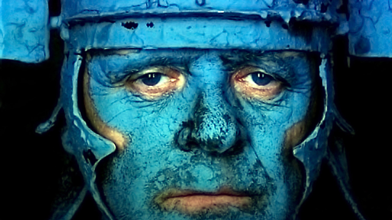 Anthony Hopkins in Julie Taymor's <em>Titus</em>