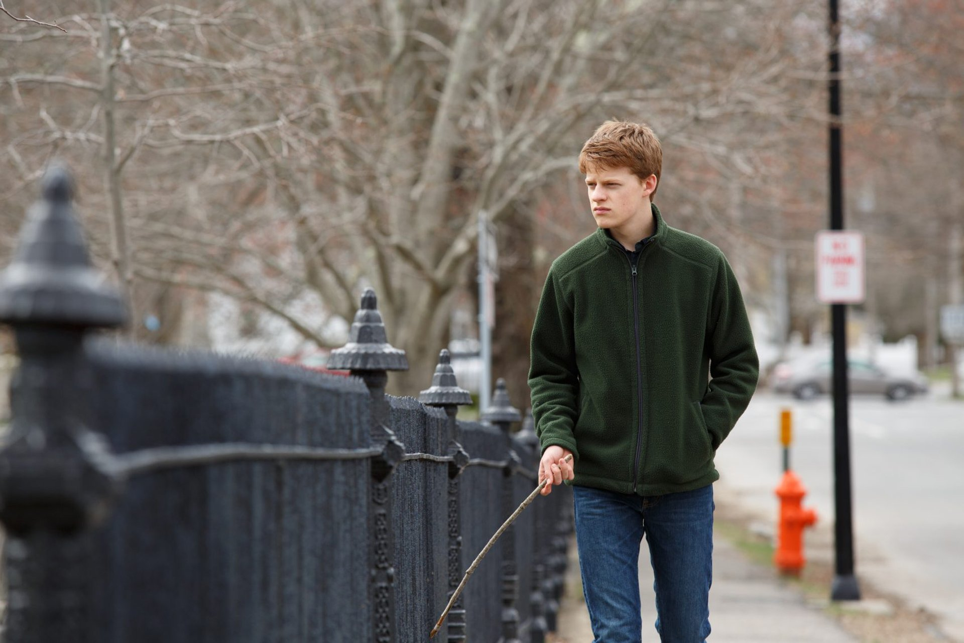 Lucas Hedges sets himself apart in <em>Manchester by the Sea</em>