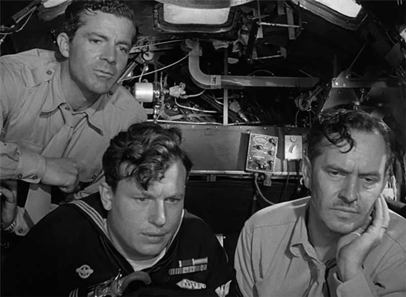 Dana Andrews, Harold Russell, and Fredric March in <em>The Best Years of Our Lives</em>