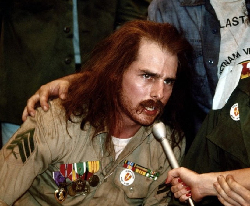 Tom Cruise as Ron Kovic in <em>Born on the Fourth of July</em>